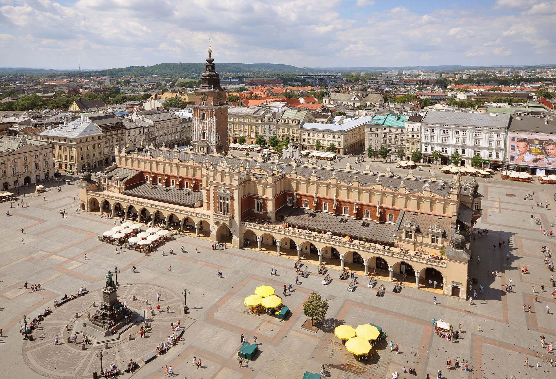 avrupa rüyası krakow old town