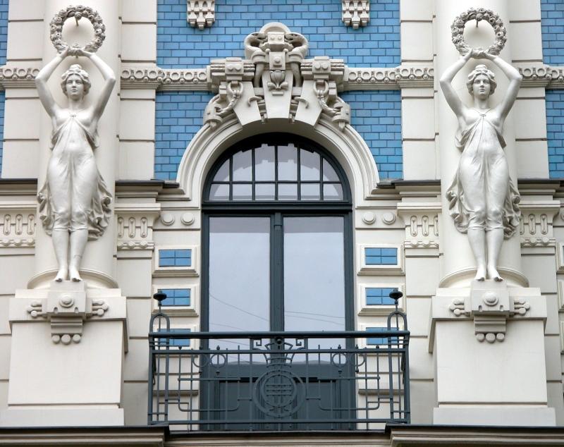 avrupa rüyası riga Art Nouveau