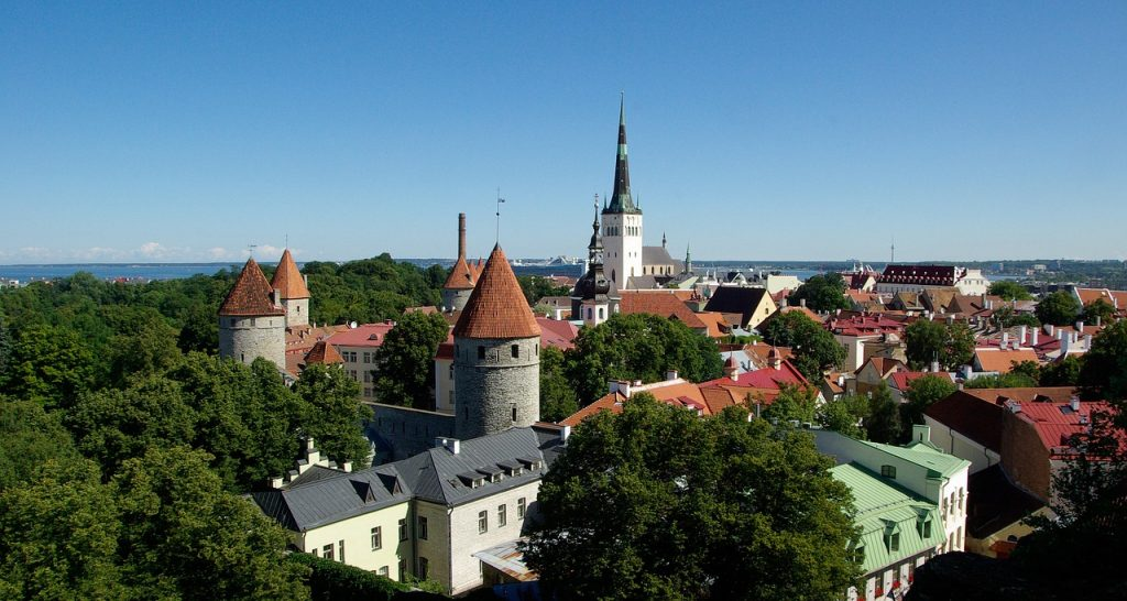 kuzey avrupa turu baltık ülkesi estonya tallinn