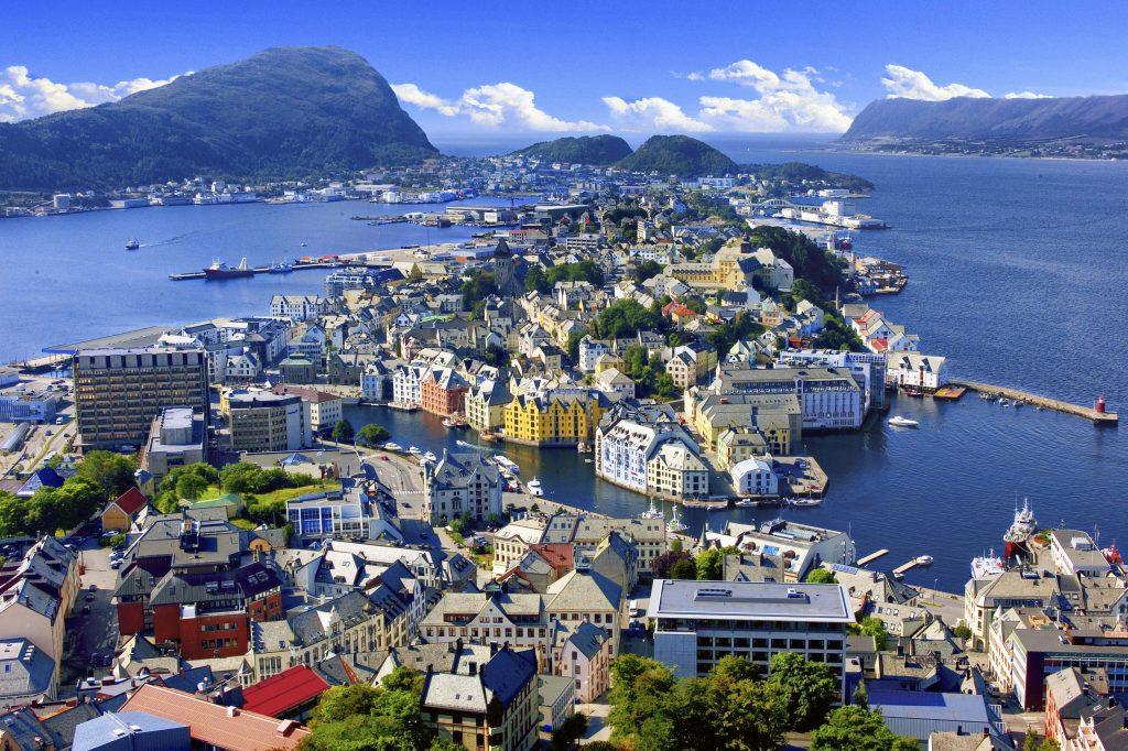 avrupa rüyası norveç alesund