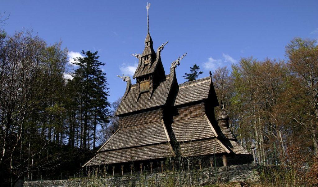 avrupa rüyası bergen Fantoft Kilisesi