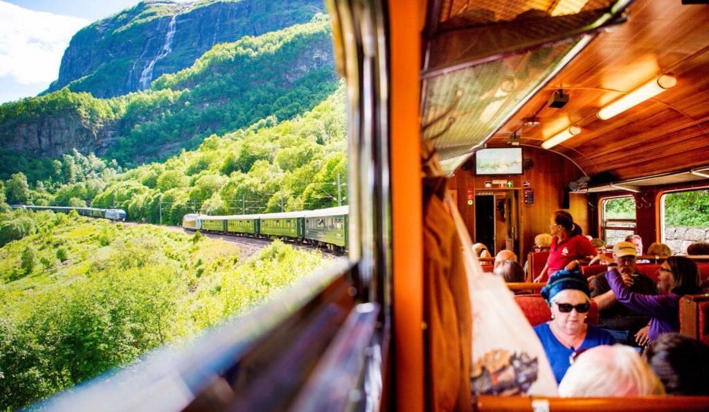 avrupa rüyası norveç flam treni