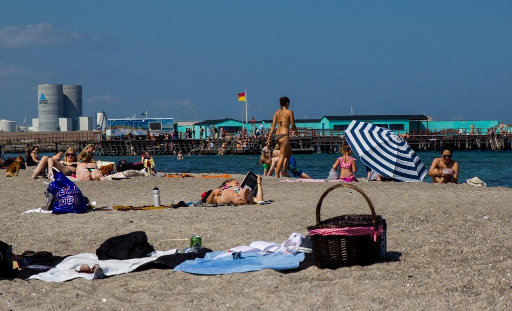 Danimarka Kopenhag Amger Beach Park