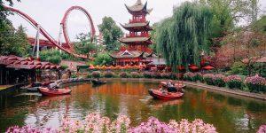 Dünyanın En Eski Eğlence Parkı Tivoli Bahçeleri