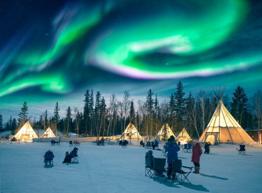 avrupa rüyası kuzey ışıkları