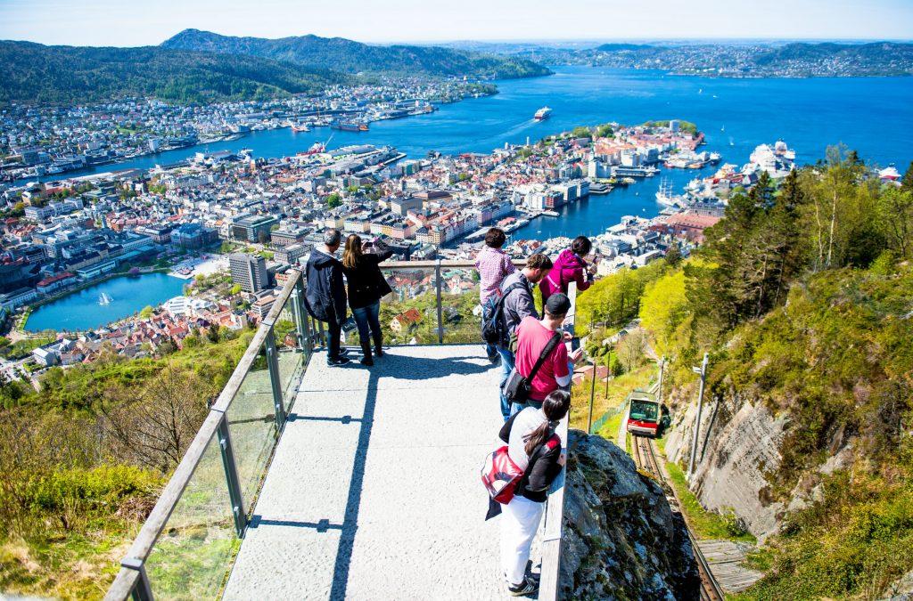 norveç bergen floyen dağı