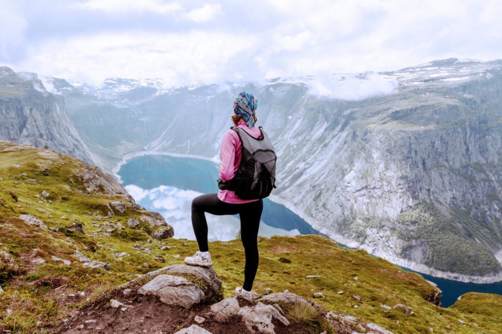 norveç fiyortları trekking