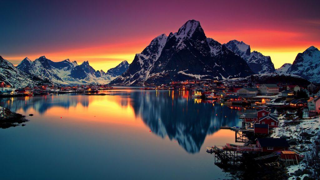 kuzey avrupa turu norveç fiyortları kasabalar
