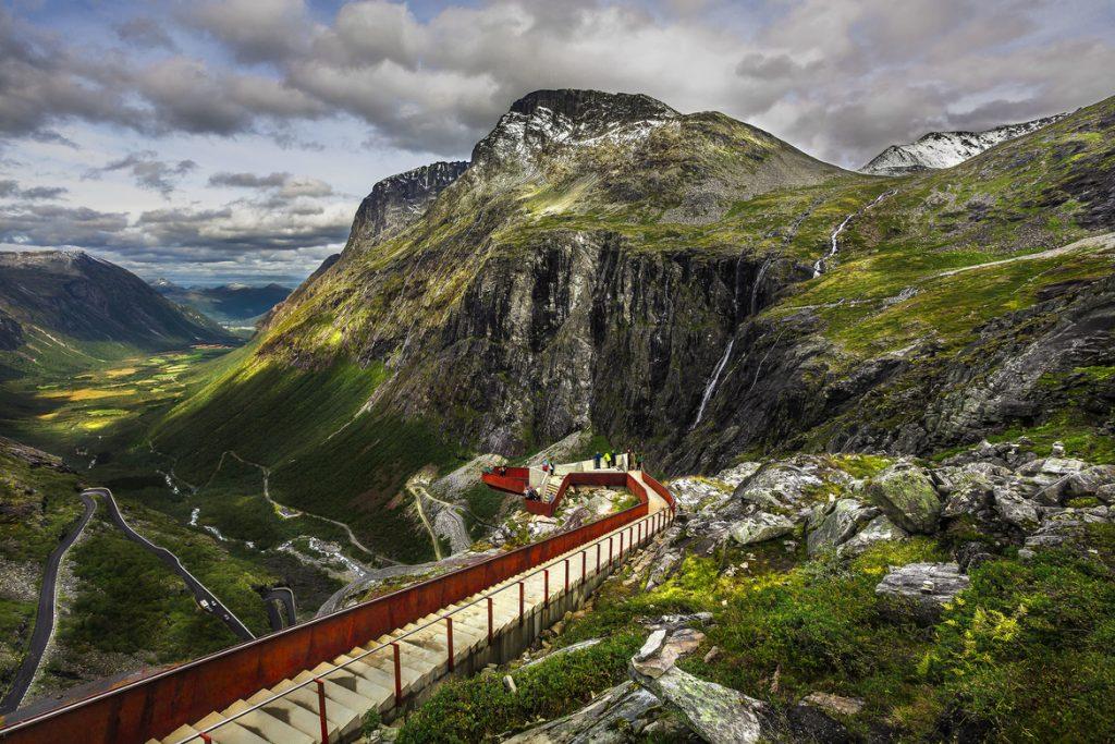Norveç Geiranger Trollstigen