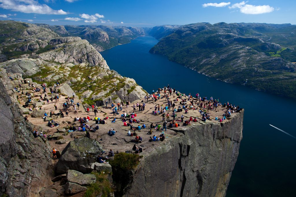 kuzey avrupa turu norveç pulpit rock