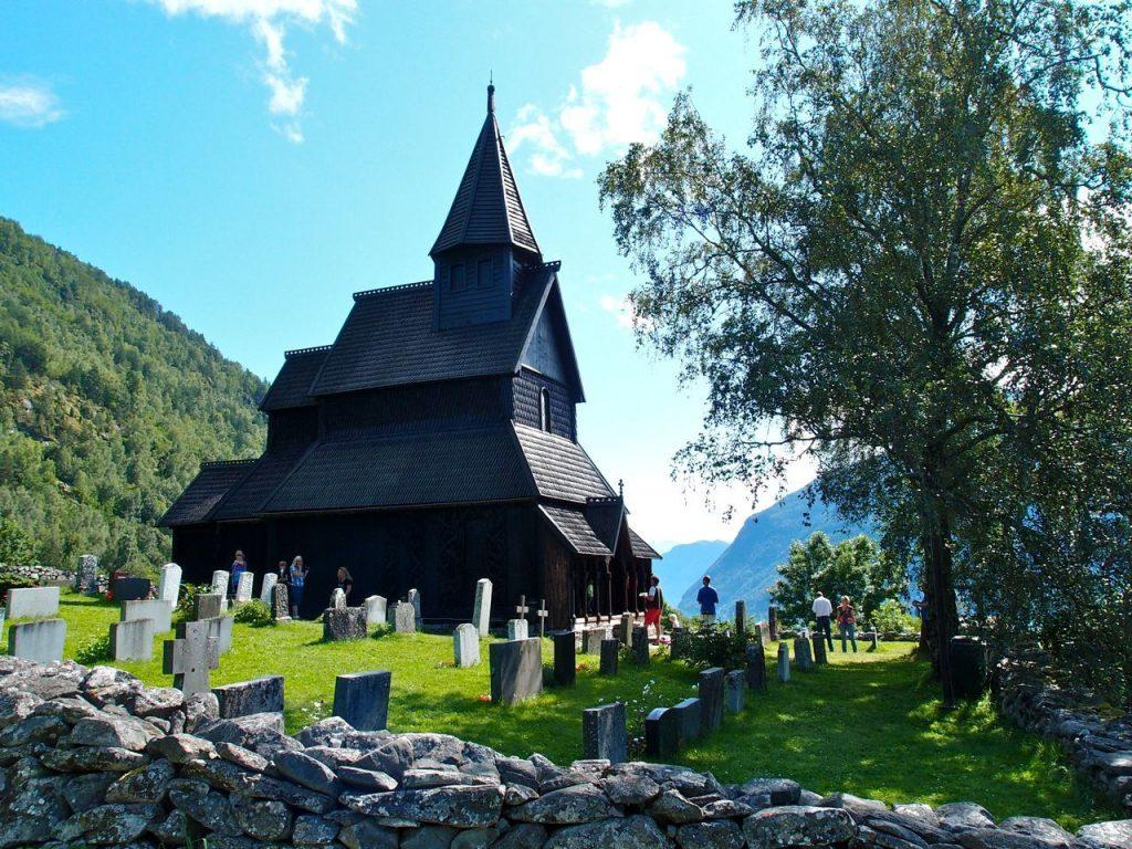 Norveç Urnes Kilisesi