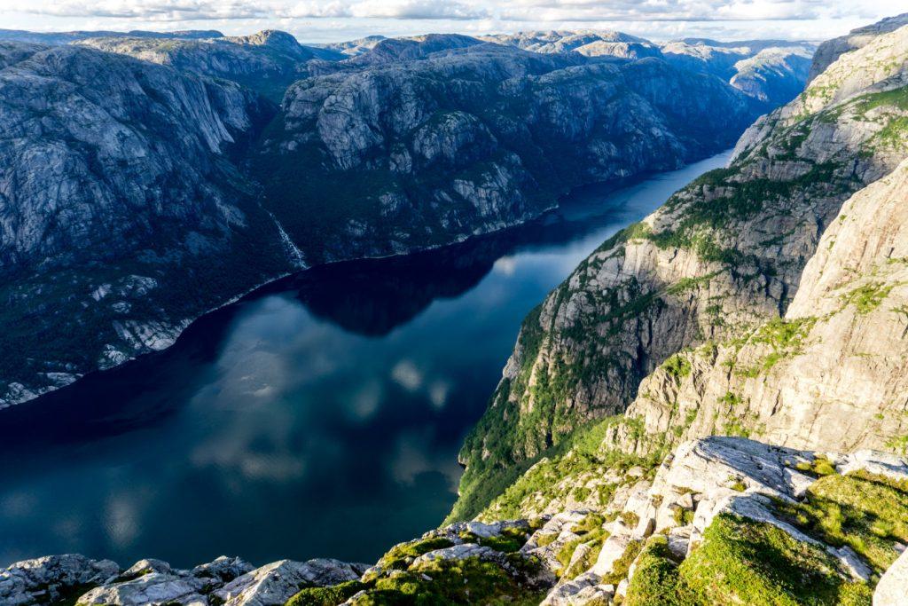 Norveç Lysefjord