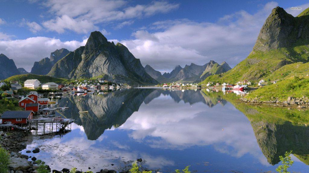 Norveç Sognefjord